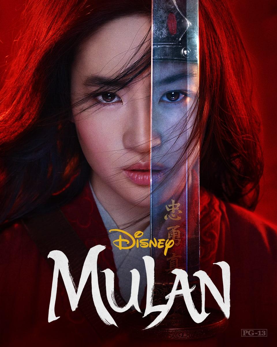 Stream Mulan, exclusively on Disney+